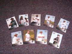 New trading cards (front)...