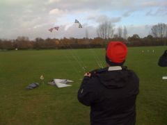 Jonesey two kite flying