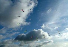 Team Flying at the NE Kiters Rev weekend