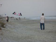 Folly Beach, Rev 2, and three kids with slks