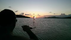 Sunset in Vieques, PR