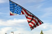 American Flag by Bazzer Poulter